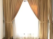 High-quality curtains and drapes only 500 AED! Items are from a hotel - Stylish and durable curtains