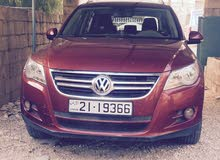 Automatic Red Volkswagen 2009 for sale