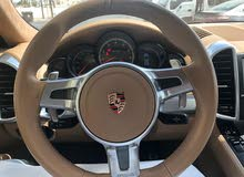 Maroon Porsche Cayenne Turbo 2011 for sale