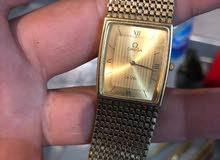 Omega De ville 10K gold Plated Quartz luxury watch