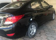 Black Hyundai Accent 2014 for sale