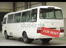 تأجير جميع انواع الباصات داخل ابو ظبي والعين for rent bus