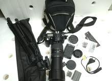 nikon d90 with 70-300mm tamron zoom lens