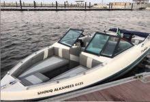 قارب سبيد بوت امريكي مع عربته فرصه ذهبيه