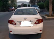 toyota corolla, model 2008,