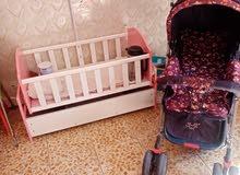 جرباية طفل مستخدمة أقل شهر جديدة عربانة أطفال
