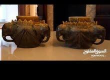 تحفة زوج Antique ancient khmer ceramic من كمبوديا  قديمة جدا من النوادر بالعالم