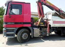 Mercedes boom truck for sale
