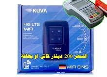 فور جي نوع  KUVA 4G MIFI / KUVA خاص بشفرات الإتصال