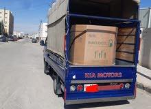 نقل وتوصيل بضاعة لكافة مناطق المملكة بأسعار مناسبة بكمات حديثة بشادر وبدون