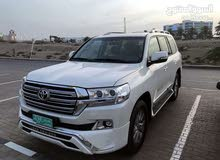 For rent 2018 White Land Cruiser