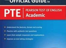 كتاب تدريب لامتحان ال pte اصلي مستورد guide to pearson test of english
