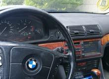 bmw 520 1999 فحص كامل محولة 2003 كامل فل كامل بحالة الوكالة ليست بحاجة إلى شيء