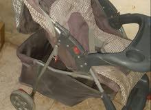 عربة اطفال اصلية