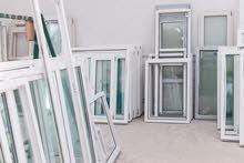 أبحث عن عمل في ورشة تصنيع أبواب ونوافذ pvc داخل الزاوية