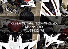 for sale raptor YFZR450R 2009