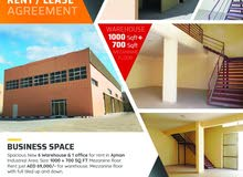 BRAND NEW 6 WAREHOUSE FOR RENT IN AJMAN