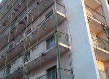 عمارة للبيع في شارع بومشماشة قرب الهلال الأحمر ستة طوابق