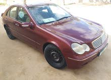 Automatic Red Mercedes Benz 2003 for sale