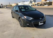 For sale 2017 Black Corolla