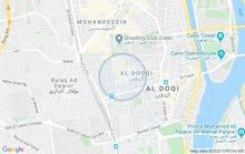 مكتب للايجار باقوي موقع بالدقي علي شارع المساحه الرئيسي
