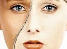 إبر جلوتاثيون مع كولاجين مع فيتامين سي لتبييض وتوحيد لون البشرة