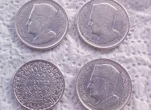 نقود مغربية من الفضة