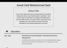 بكالريوس إدارة أعمال دولية(ماليزيا)Bachelo in International Business Management
