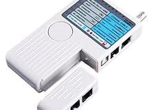 جهاز فحص توصيل كيبل الانترنت و كيبل جهاز قاري عداد الكهرباء و الواي فاي و الدش