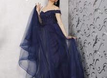 فستان سهرة سواريه تركي الصنع