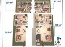 #بمقدم_40% #والباقى على #3سنوات امتلك ارضى يحديقه 230 متر او 205 بمدخل خااااص