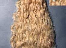 يتوفر لدينا بواريك شعر واكستنشن (شواتير) خصل شعر