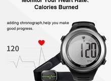 ساعة مع حزام صدري EZON الاصلية لعشاق الرياضة