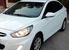 Hyundai Accent 2013 For Rent - White color