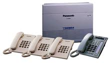Office phone system / Panasonic Central Phone installation IN DUBAI