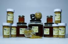 حبوب لقاح صنف فاخر طبيعية و عسل صحراوي من صحراء أصاب مكفول و مضمون