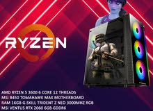 gaming pc ryzen 5 3600 16gb ram  rtx 2060