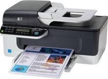 (HP Officejet J4580 all in one طابعة - سكانر - فاكس) مستعملة بحالة ممتازة بدون حبارات