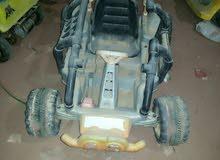 سياره اطفال للبيع بلشحن الكهرباء 2 ماتور أمريكي الصنع