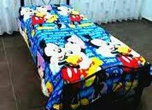 سرير معدني اطفال او كبار  متوفر بالوان زهري ازرق نهدي اسود