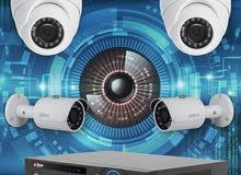 بيع و تركيب كاميرات المراقبة و شبكات الكمبيوتر و انظمة الحماية