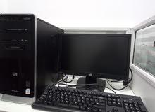 """HP Desktop-Intel C2D Pro-4GB-128GB SSD+250GB-DVD-19"""" Screen"""