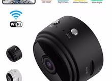 كاميرة مراقبة صغيرة الحجم تعمل بالاتصال اللاسلكي واي فاي