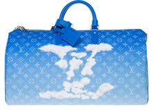 Louis Vuitton Keepall Bandouliere Clouds