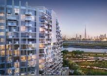 شقه للبيع في الجداف اطلالة برج خليفه في برج ضخم