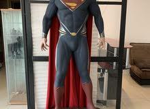 Superman life size statue 1:1 مجسم سوبرمان بالحجم الطبيعي