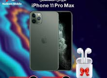 عرض نار على ايفون 11promax 256 مستعمل بسعر مميز