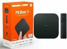 Xiaomi Mi Box S Streaming Media Player Blackمشغل الوسائط جديد عرض خاص مع كفالة