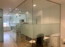 تنفيذ اعمال الزجاج، توريد وتركيب الزجاج الاستركشر و السيكوريت
