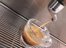 سطى ماكينة قهوة